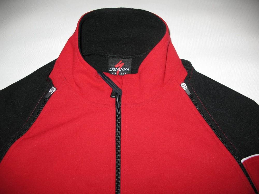 Велокуртка SPECIALIZED 2in1 windstopper cycling jacket (размер L(реально M/S) - 3
