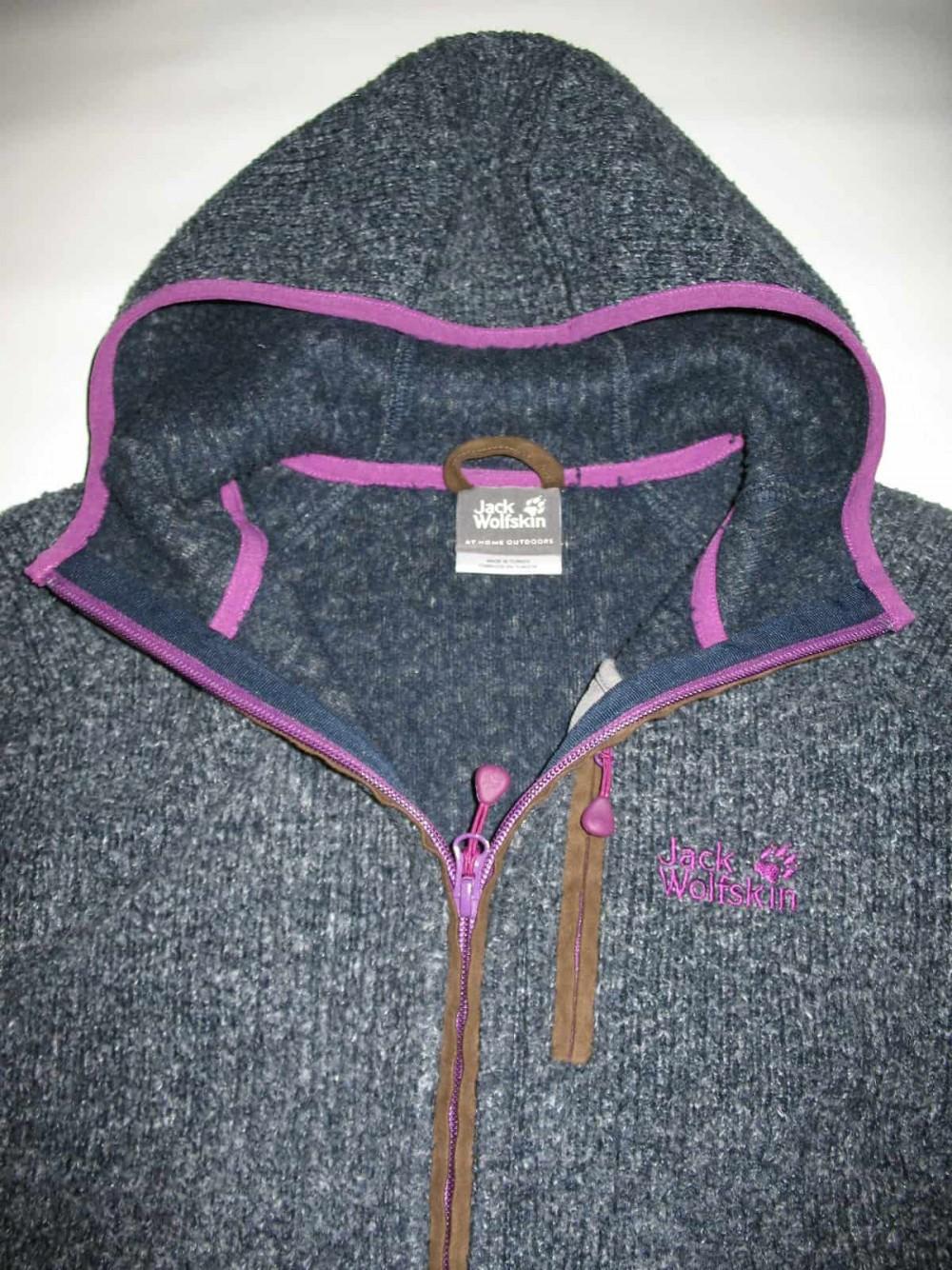 Кофта JACK WOLFSKIN milton fleece hoodie lady (размер 40-M/L) - 4