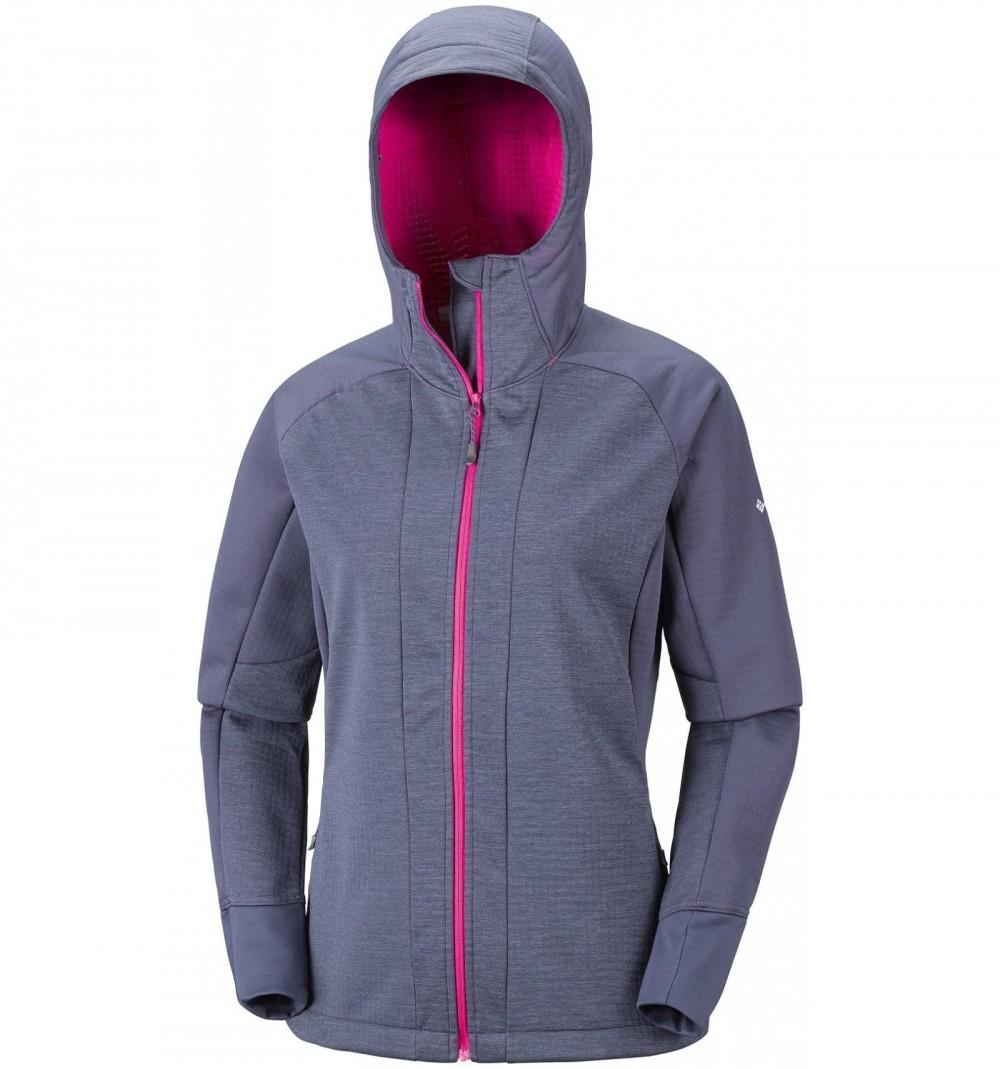 Куртка COLUMBIA steel cliff hooded softshell jacket lady (размер S) - 1