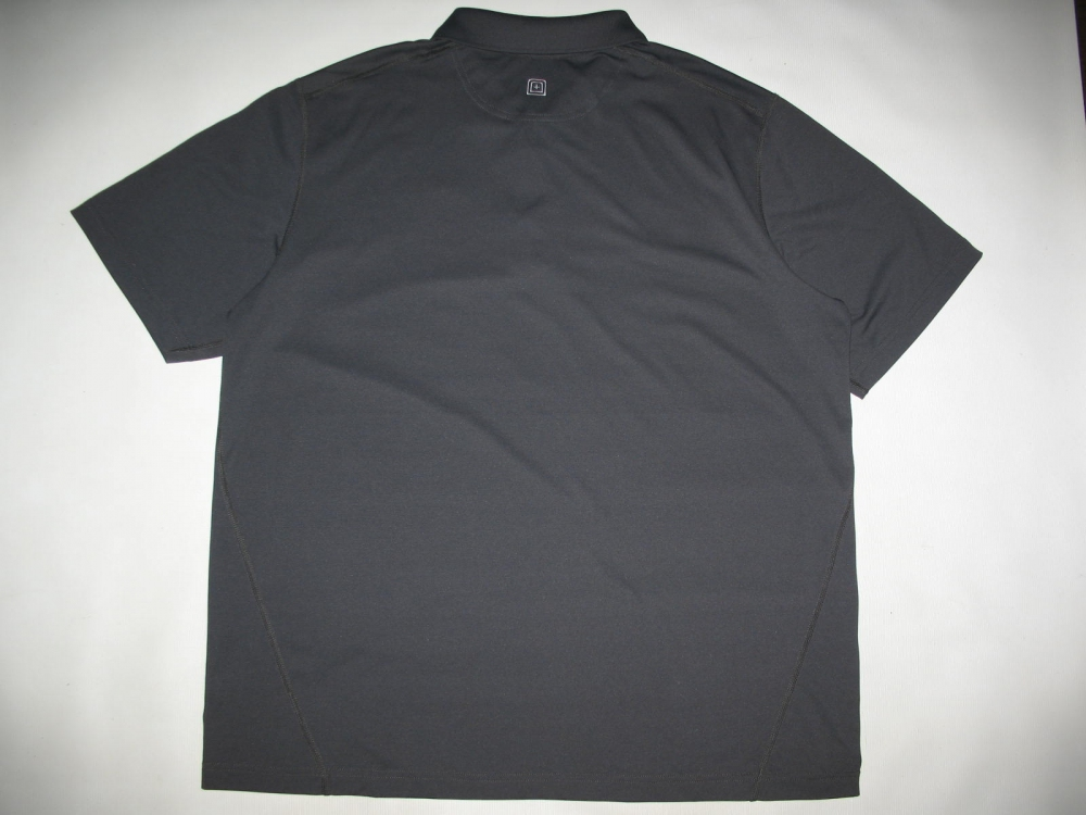Футболка 5.11  tactical professional pinnacle grey short sleeve polo jersey - 3