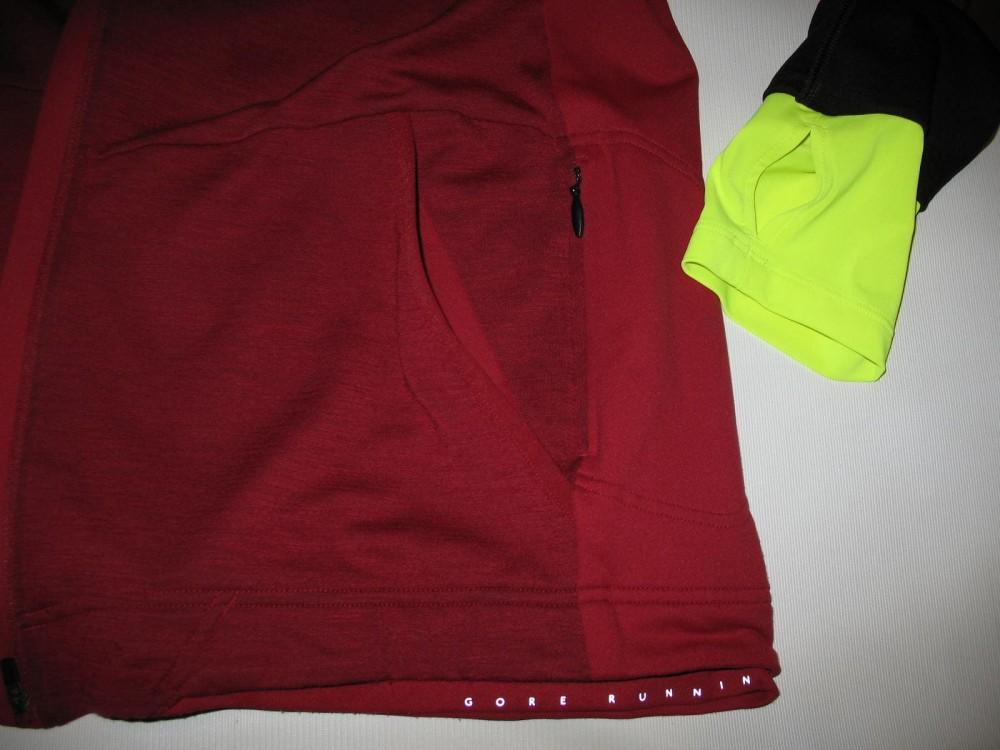 Кофта GORE running wear hooded running jacket (размер XXL) - 12