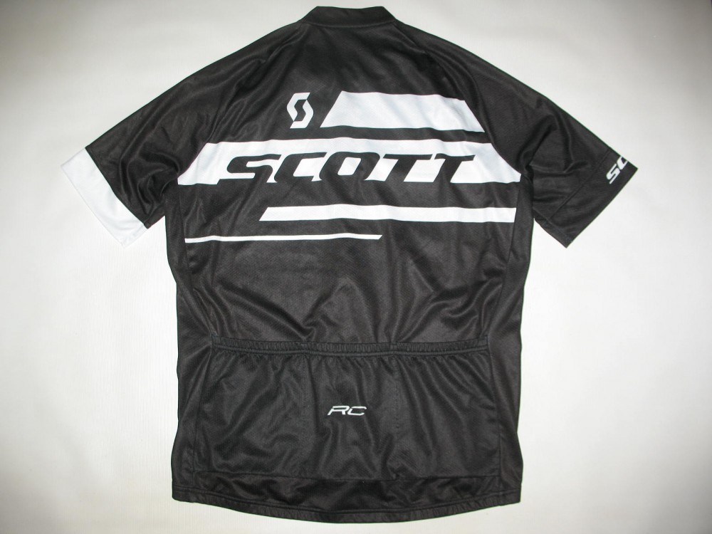Веломайка SCOTT rc cycling black jersey (размер XL) - 1