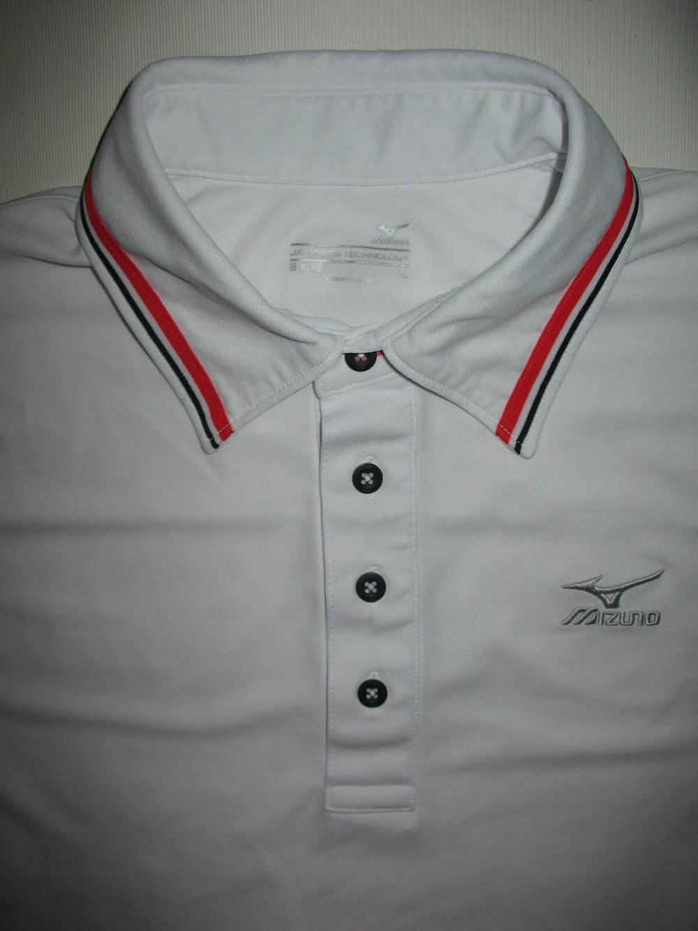 Футболка MIZUNO  Drylite Ice Touch Pique Golf Shirt (размер L) - 4