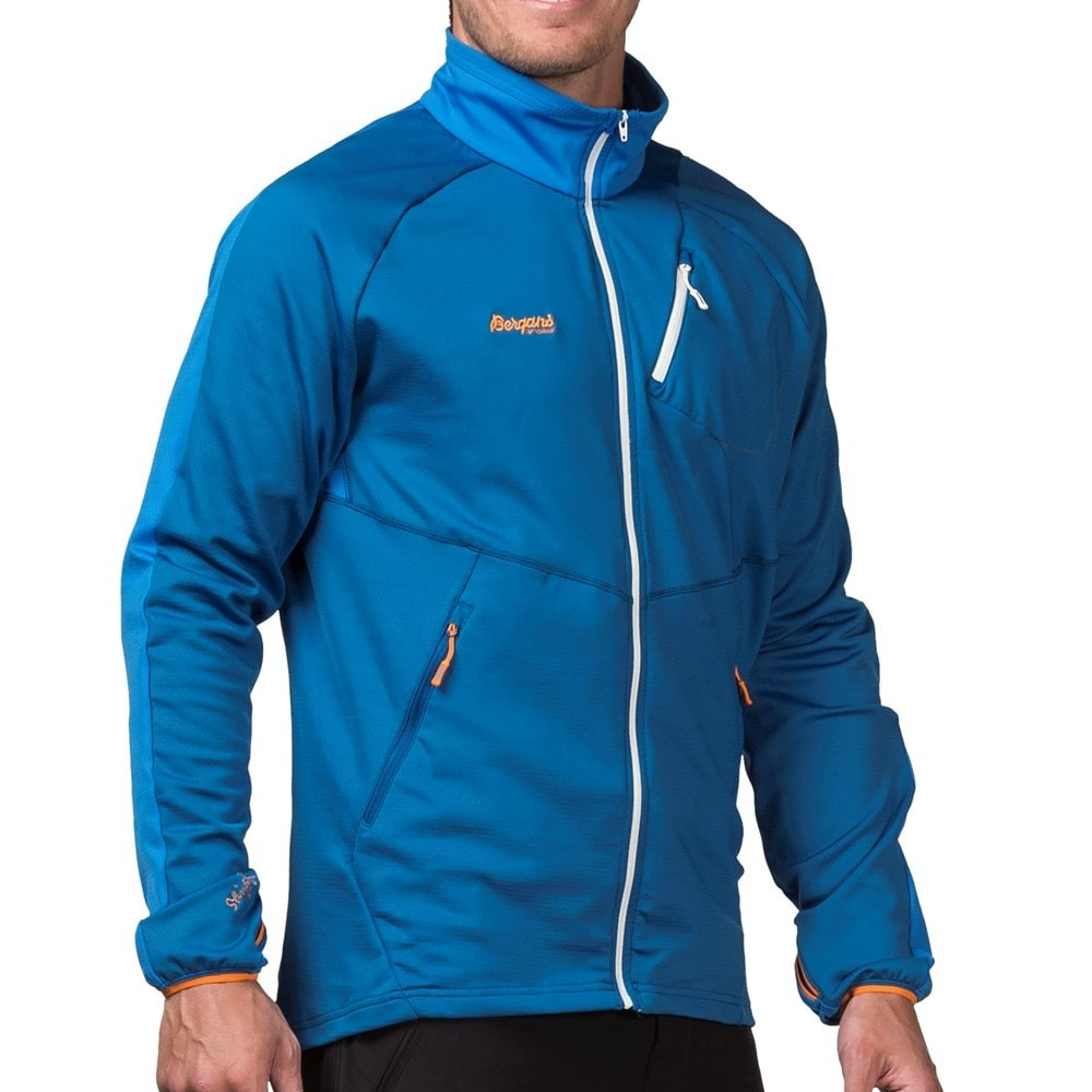 Кофта BERGANS galdebergtind fleece jacket (размер M/L) - 1