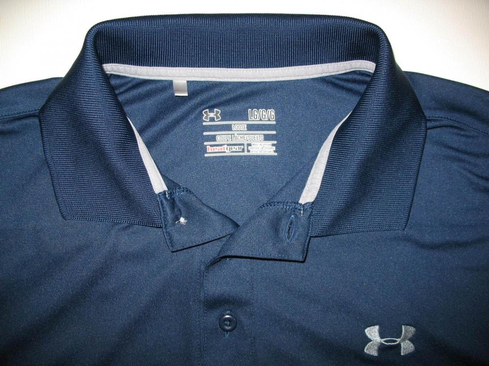 Футболка UNDER ARMOUR performance polo shirt (размер L) - 6
