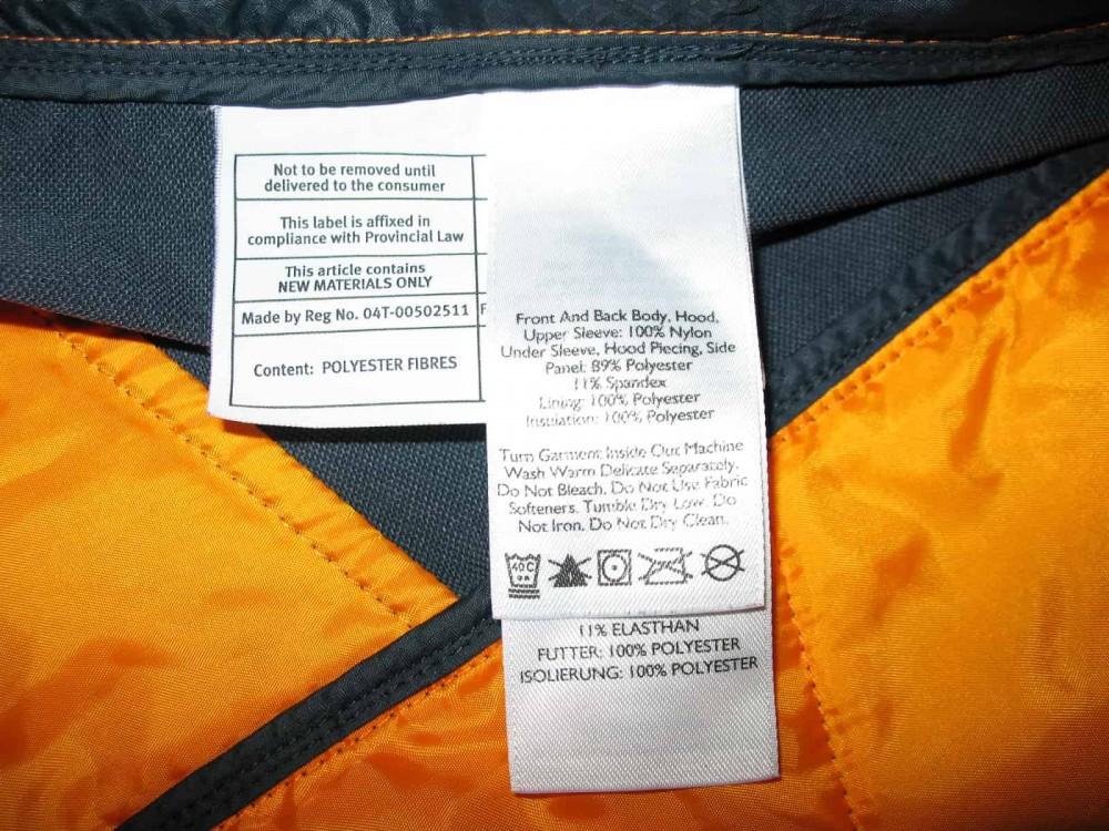 Куртка EDDIE BAUER ultralight hooded  jacket (размер L) - 7