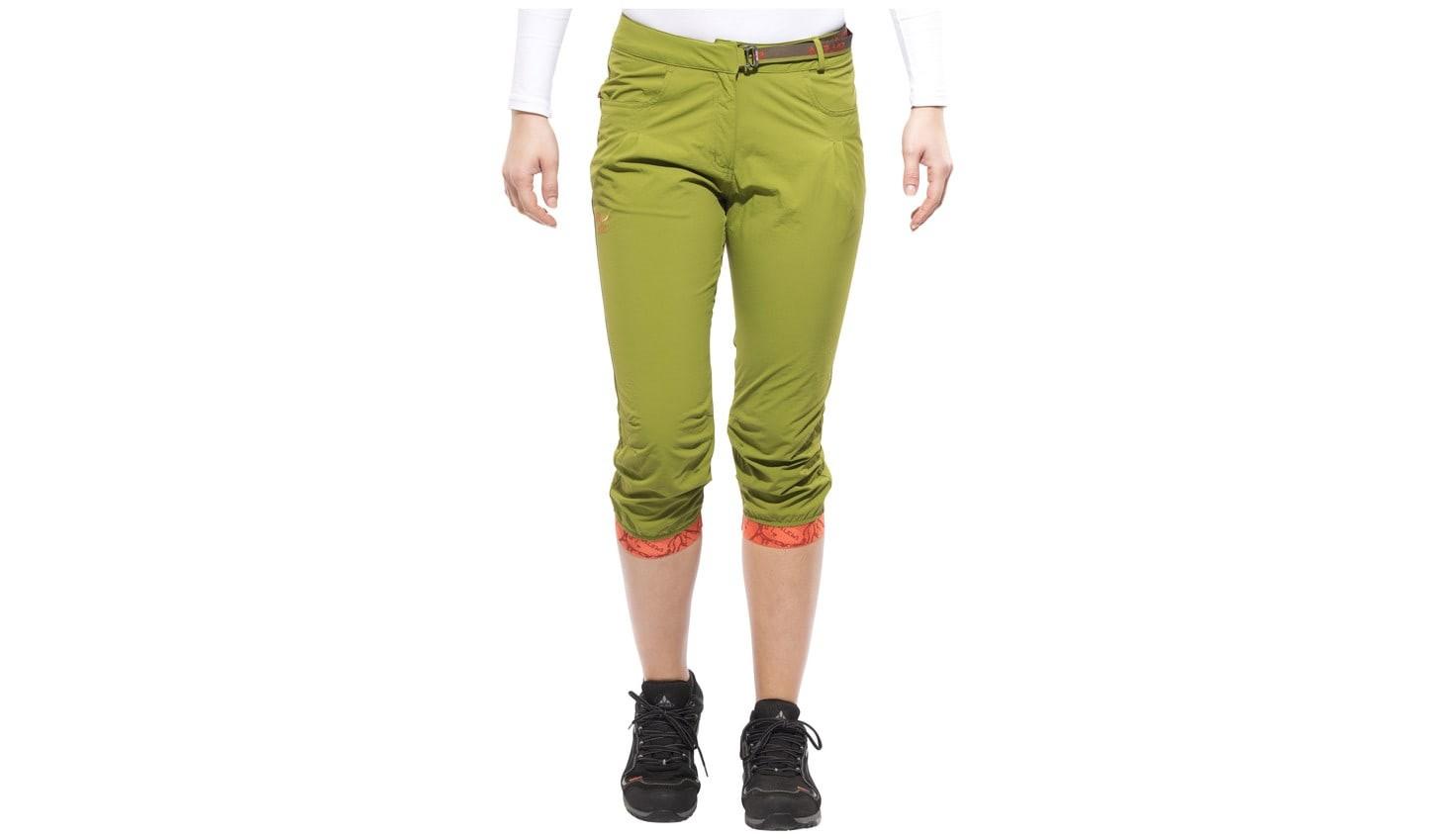 Штаны SALEWA rhytmo dry 3/4 pant lady (размер М) - 7