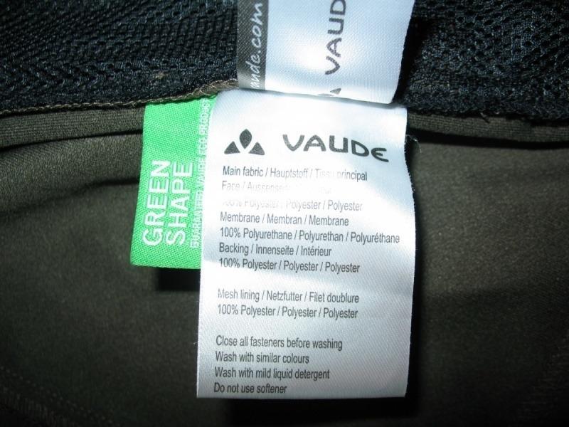 Куртка VAUDE   Hurricane II hood softshell jacket  (размер S/M) - 11