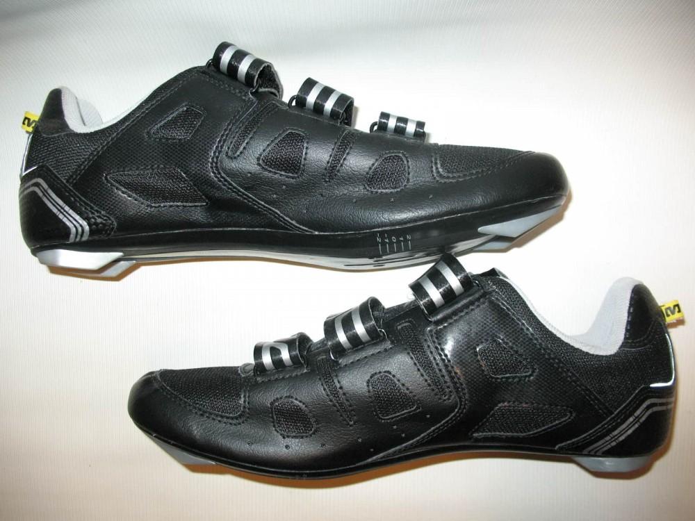 Велотуфли MAVIC peloton road shoes (размер US10/UK9,5/EU44(на стопу 280 mm)) - 4