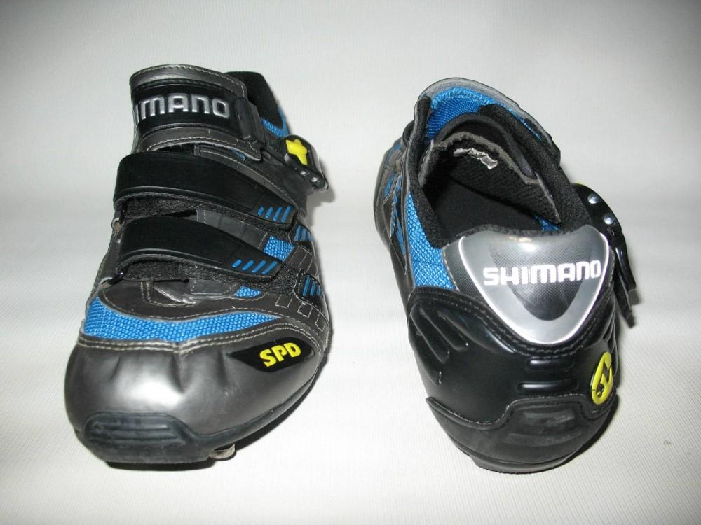 Велотуфли SHIMANO sh-m180g mtb bike shoes (размер UK12,5/EU47(на стопу до 298 mm)) - 6
