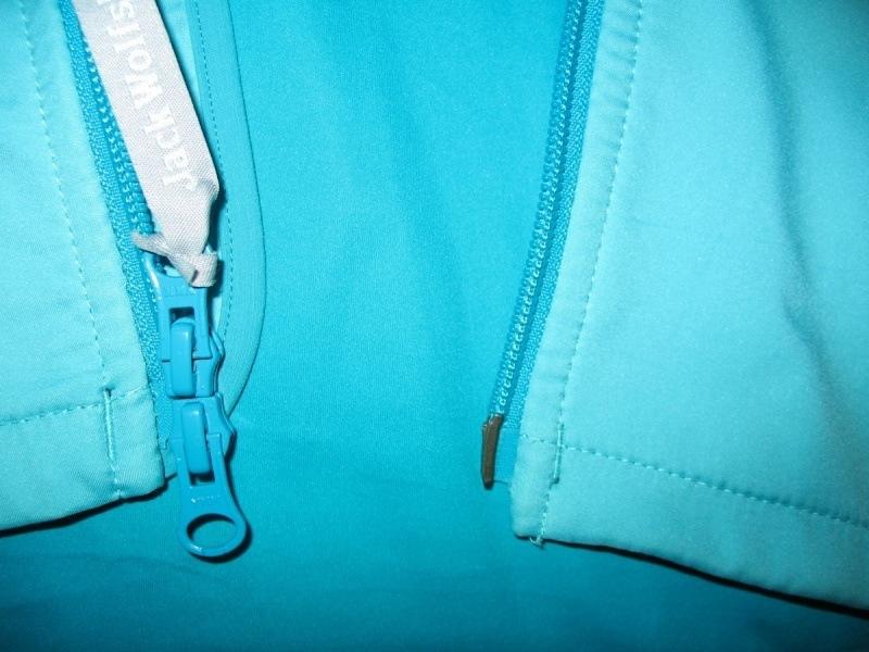 Куртка JACK WOLFSKIN Electron Softshell jacket lady  (размер M) - 7