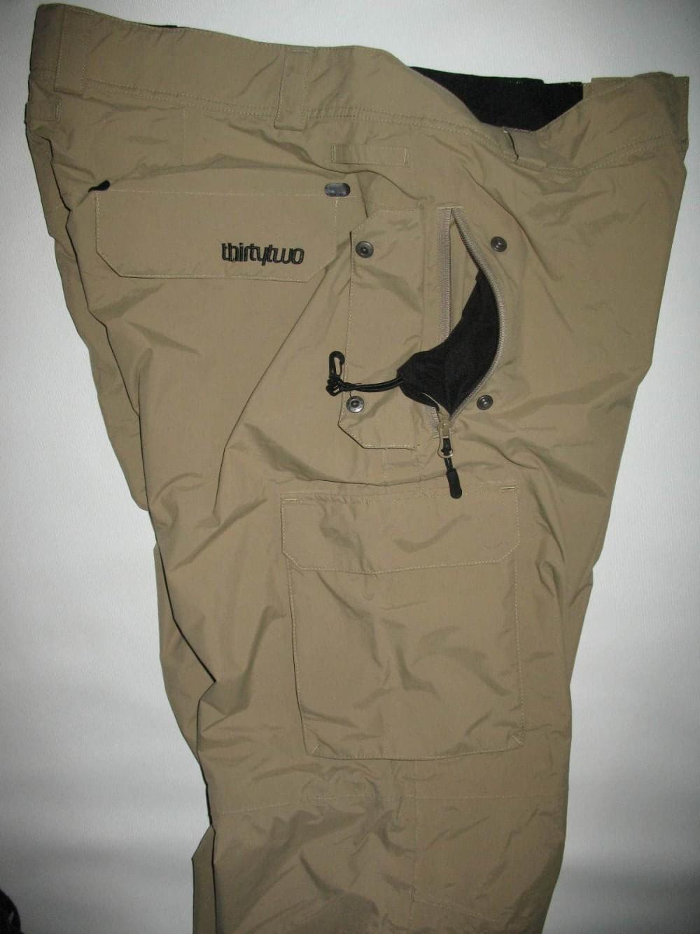 Штаны 32THIRTYTWO shilooh snowboard pants (размер XL) - 3