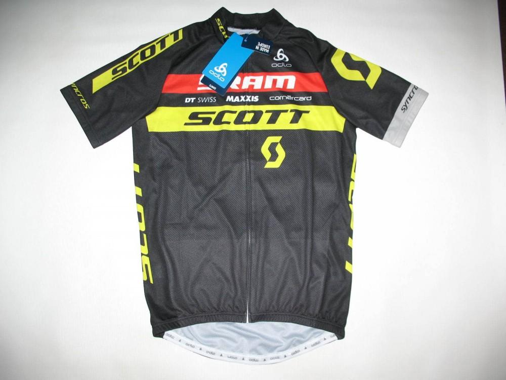 Веломайка ODLO scott sram cycling jersey (размер L) - 3