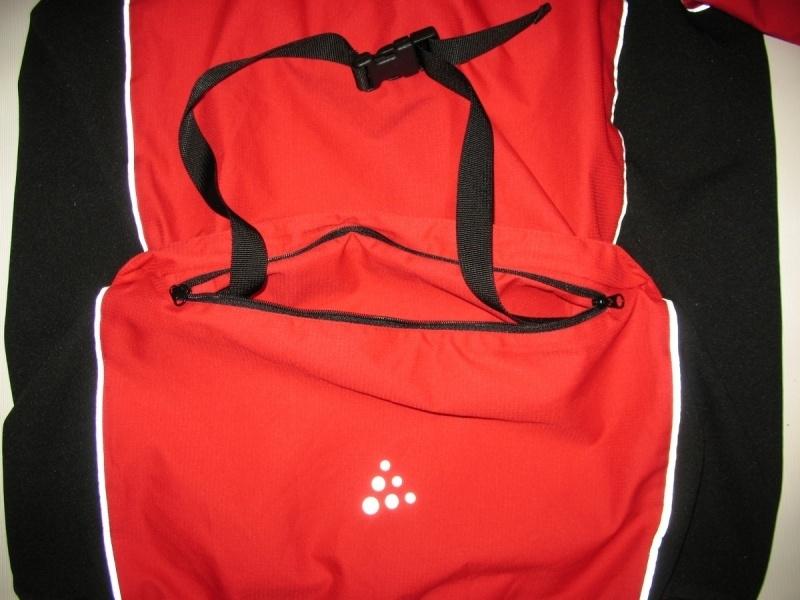 Куртка CRAFT bike/run windstopper jacket (размер L) - 8
