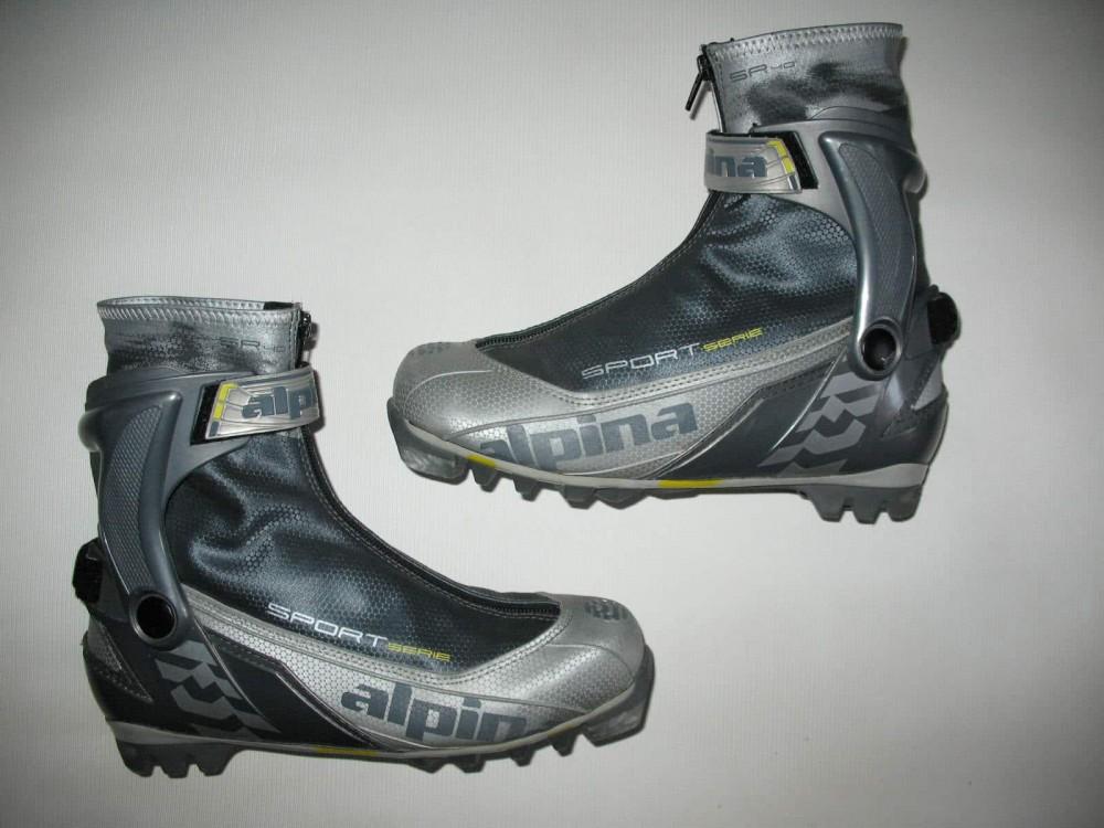 Ботинки ALPINA sr40 cross country ski boots (размер EU41(на стопу до 255 mm)) - 6