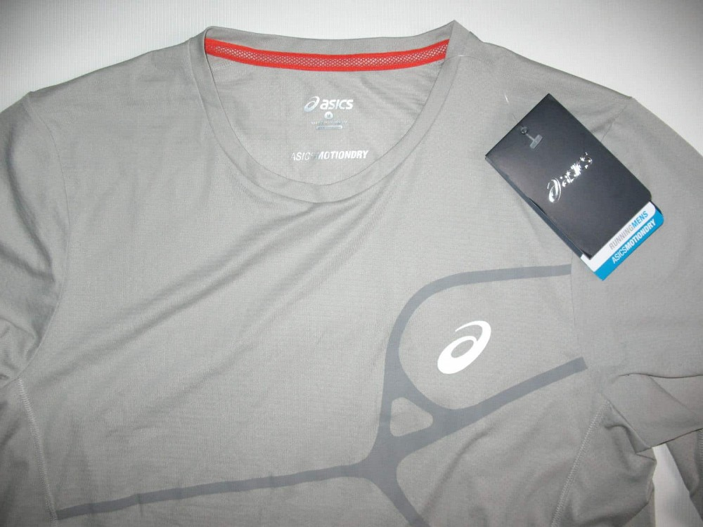 Футболка ASICS elite ls jersey (размер M) - 4