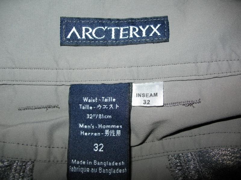 Штаны  ARCTERYX   Perimeter pants  (размер 32/M) - 10