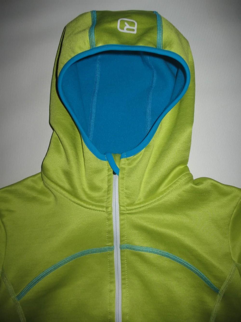 Кофта ORTOVOX merino fleece hoodies lady (размер S) - 3