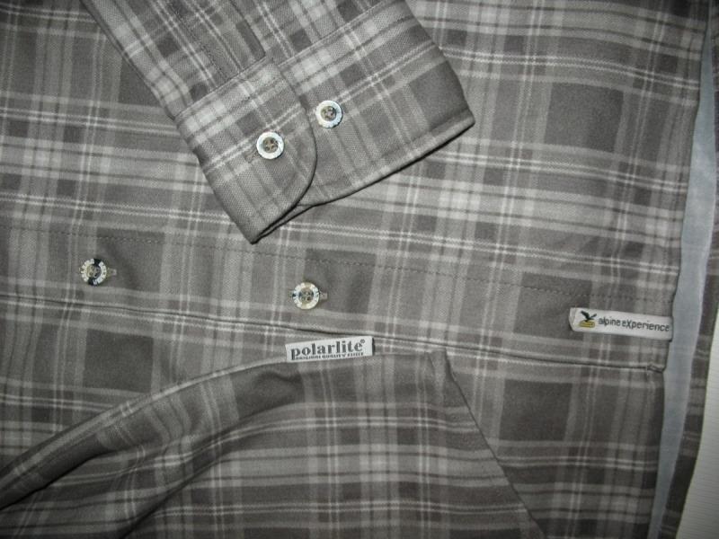 Рубашка SALEWA diamond shirt  (размер M) - 6
