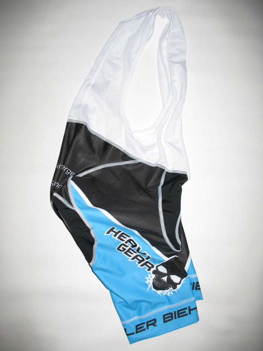 Велошорты BIEHLER heavy gear bib cycling shorts (размер S) - 3