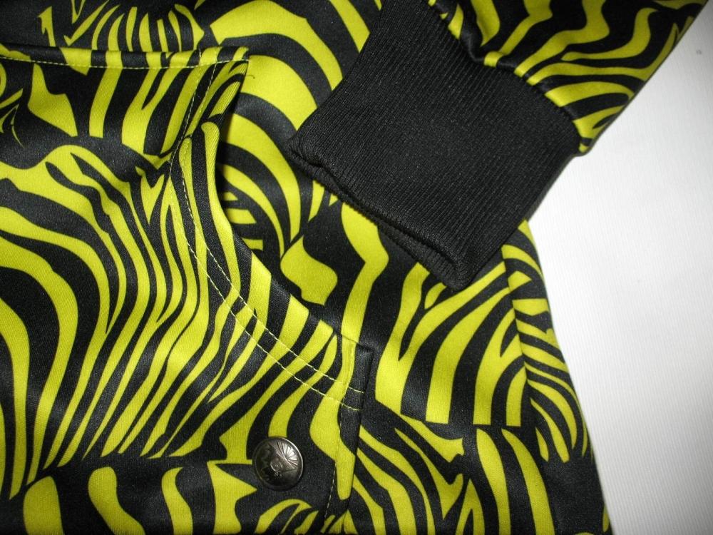 Кофта BURTON zebra fleece hoodie lady (размер M) - 4