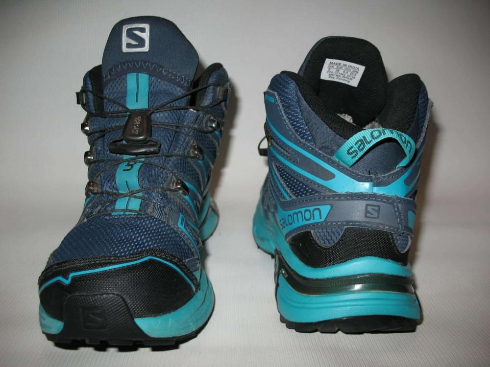 Ботинки SALOMON X chase GTX mid (размер UK5/US6,5/EU38,5(на стопу  235 mm)) - 9