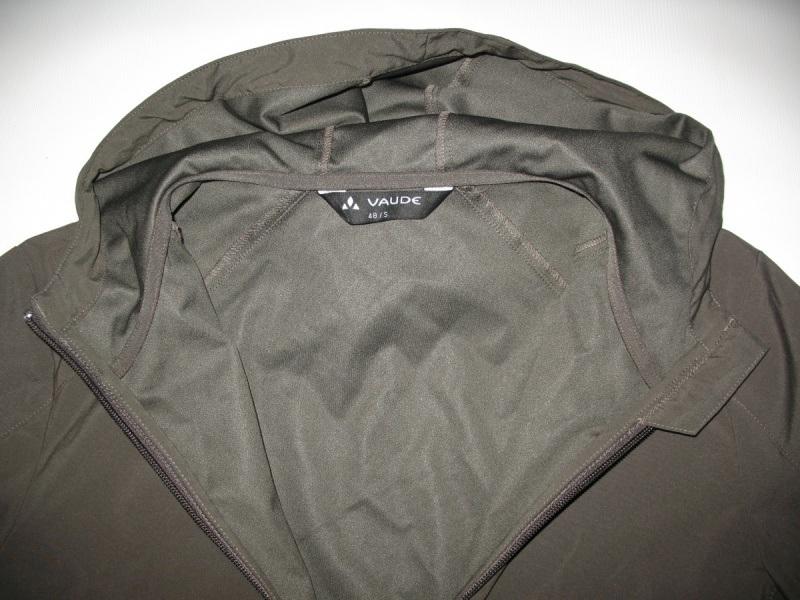 Куртка VAUDE   Hurricane II hood softshell jacket  (размер S/M) - 4
