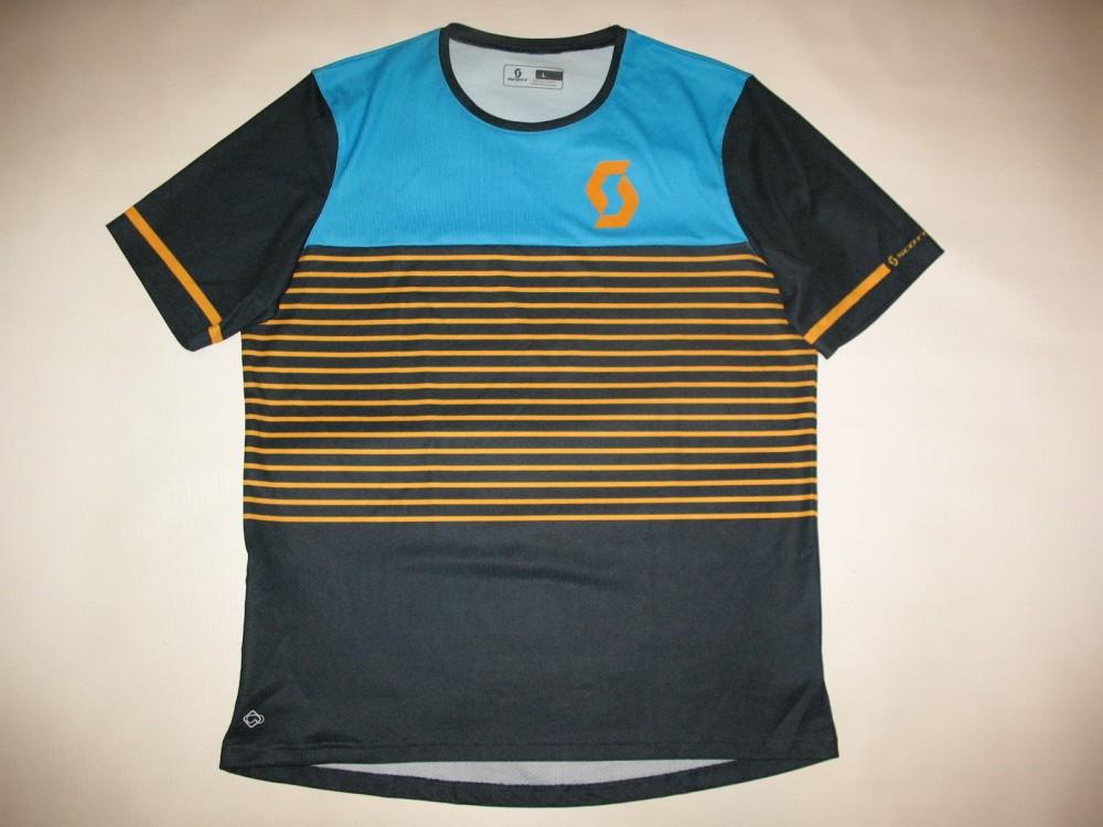 Веломайка SCOTT maillot trail flow jersey (размер L) - 1