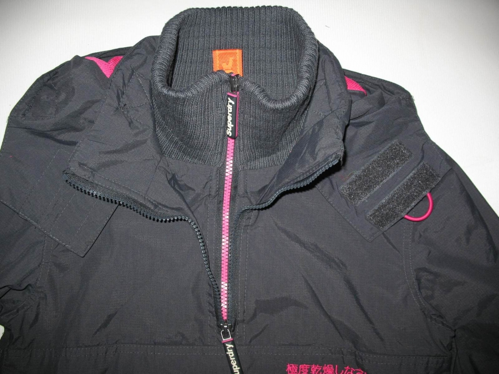 Куртка SUPERDRY Pop Zip Wind jacket lady (размер XS) - 6