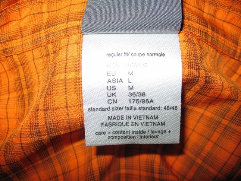 Рубашка JACK WOLFSKIN shirts (размер M/L) - 4