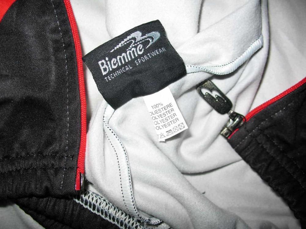 Велокофта BIEMME kostriser fleece cycling jacket (размер М) - 4