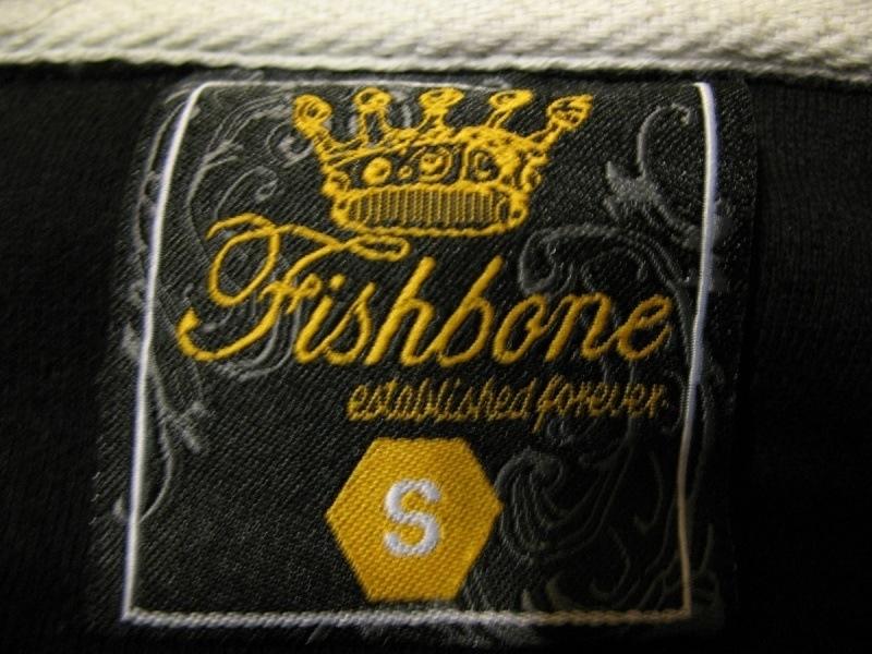 Кофта FISHBONE ninetytwo hoodies unisex  (размер S/XS) - 6