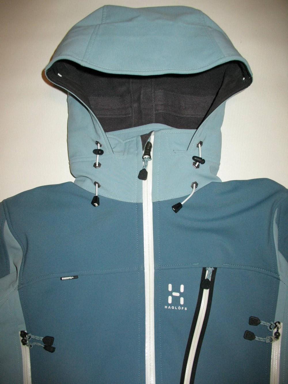 Куртка HAGLOFS jaw softshell jacket lady (размер M) - 4