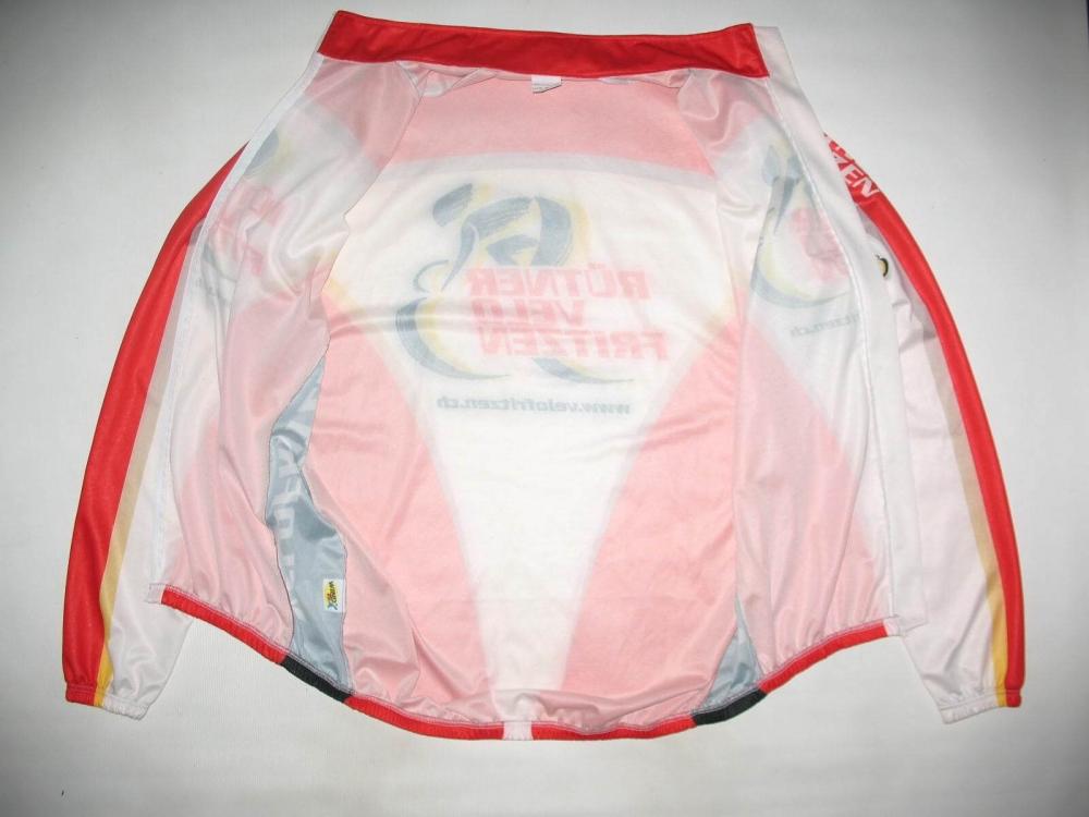 Велокуртка CUORE velofritzen windtex jacket (размер XL) - 4