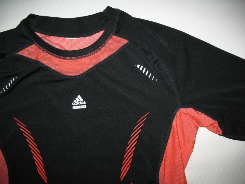 Футболка ADIDAS techfit climacool compression jersey (размер XL) - 2