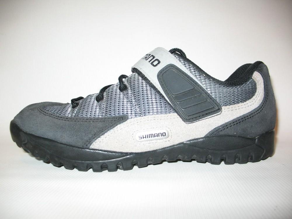 Велотуфли SHIMANO sh-m038 MTB shoes (размер US9;EU43(на стопу до 272 mm)) - 1