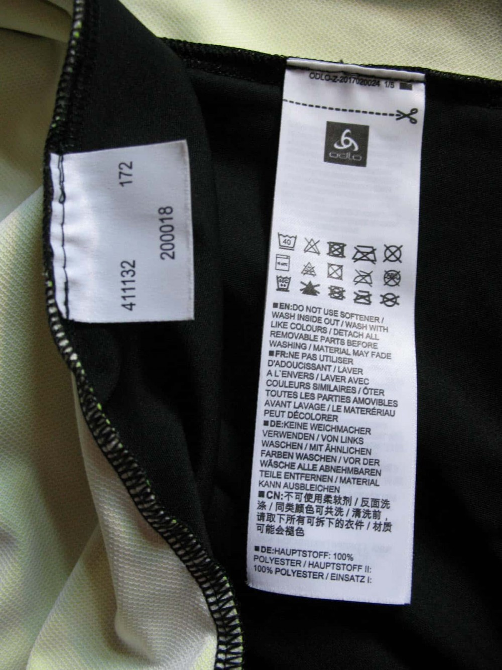 Куртка ODLO mistral logic jacket (размер L) - 8