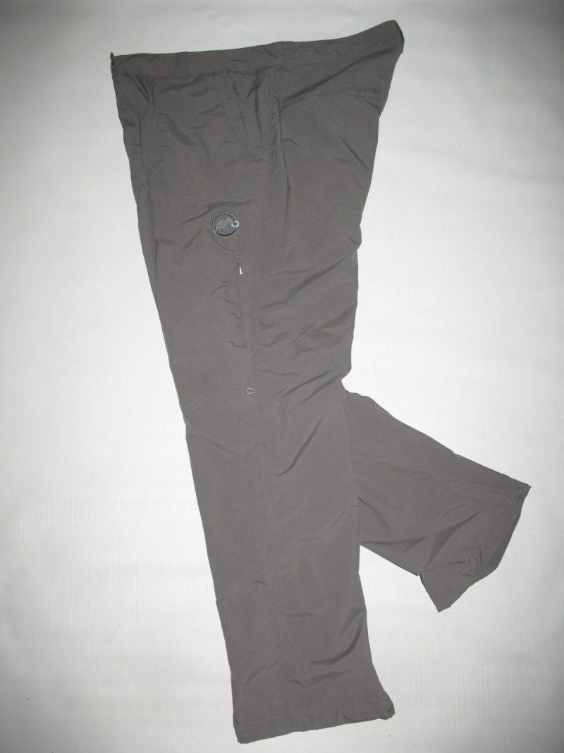 Штаны MAMMUT hose lang hiking pants lady (размер L/XL) - 6