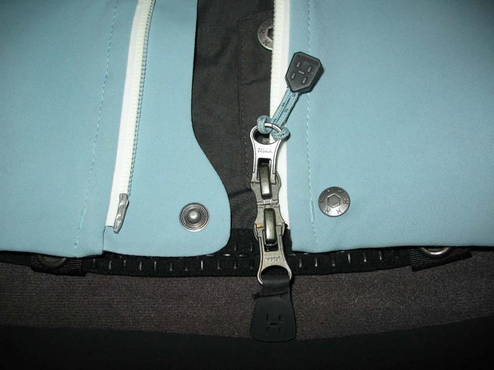 Куртка HAGLOFS jaw softshell jacket lady (размер M) - 6