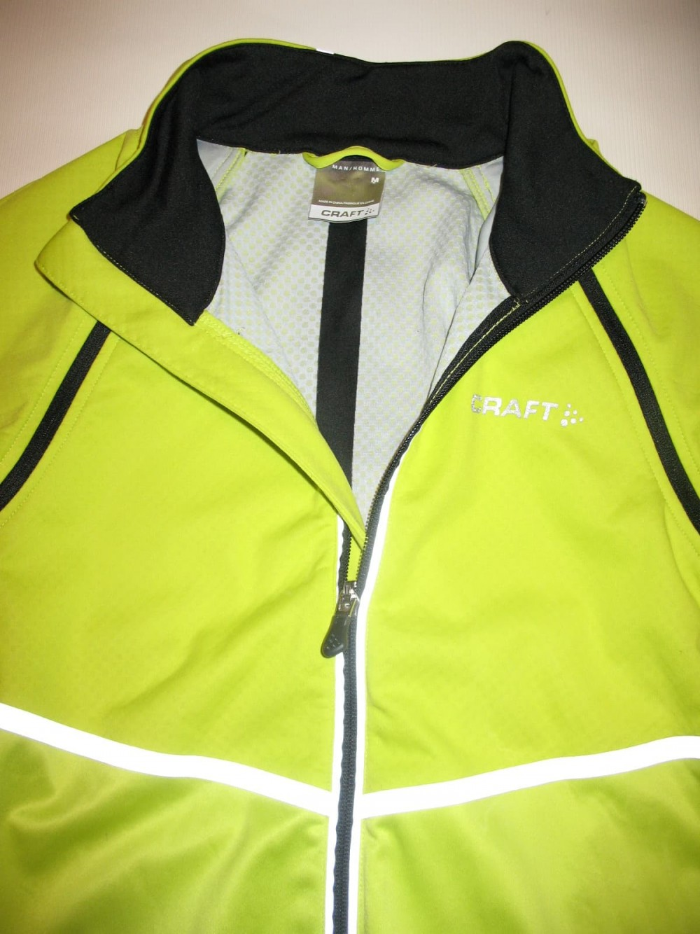 Велокуртка CRAFT adapt storm 2in1 cycling jacket (размер M) - 4