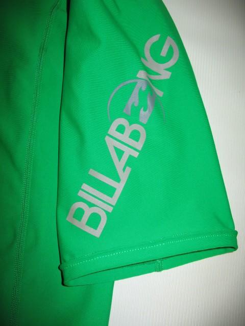 Футболка BILLABONG intersection ss green rashguard (размер XL) - 4