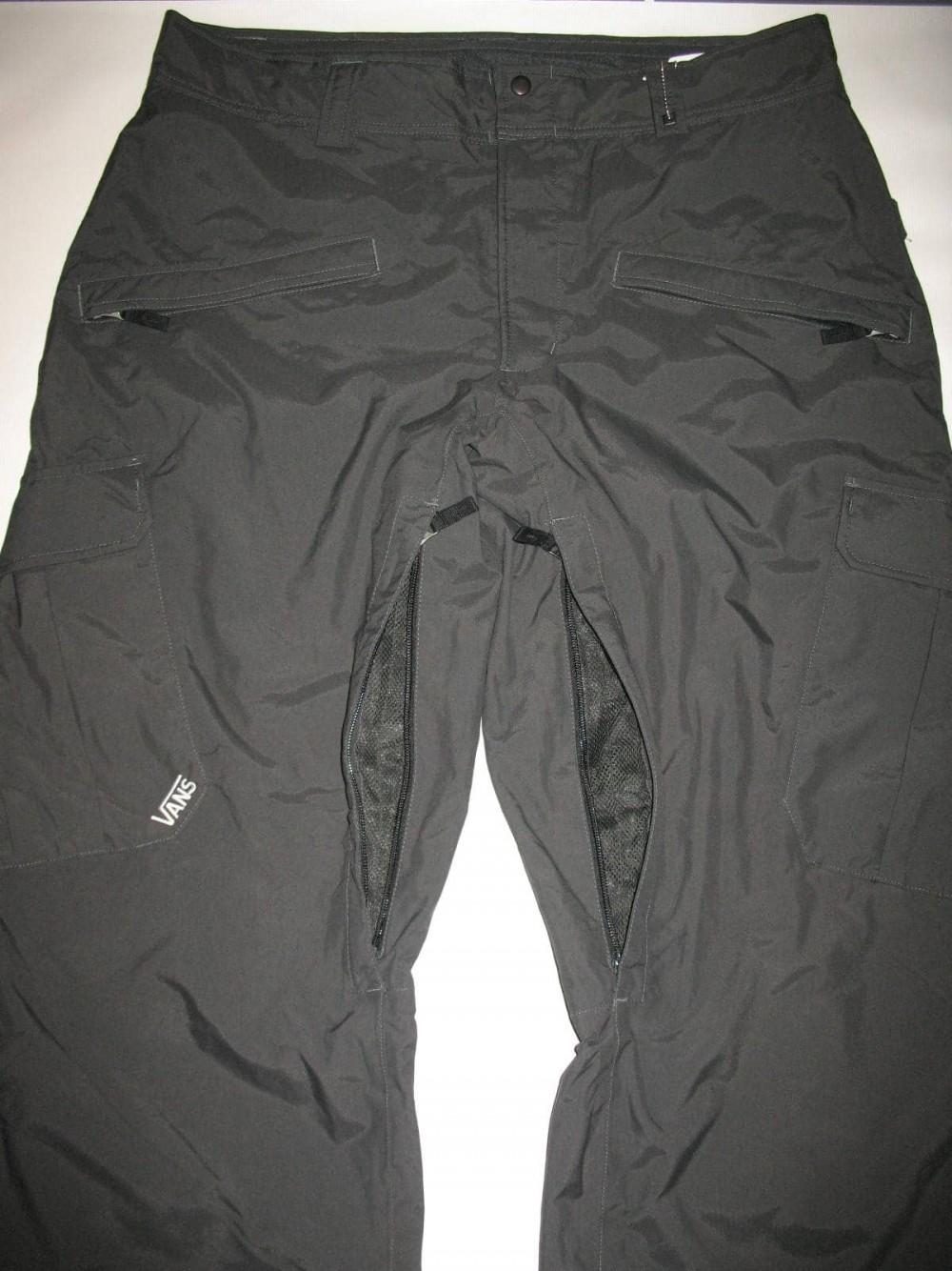 Штаны VANS 10/10 snowboard pants (размер XL) - 6