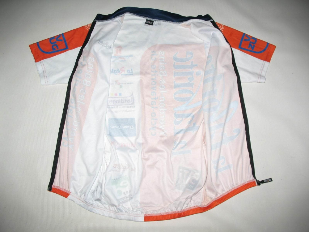 Веломайка TEXNER la favorite orange cycling jersey (размер M) - 3