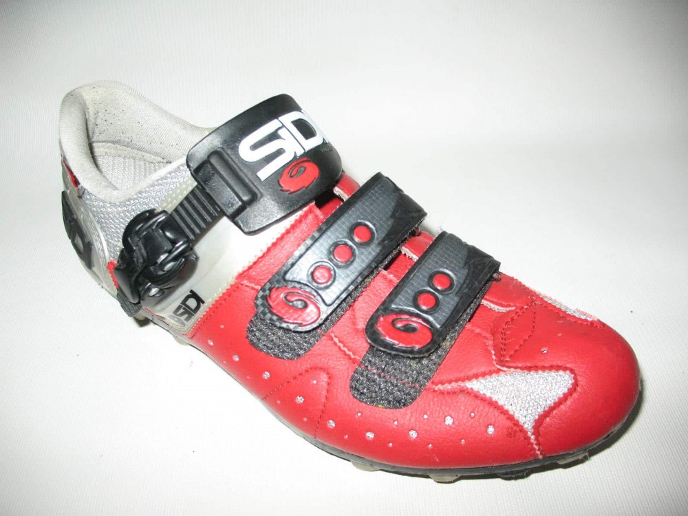 Велотуфли SIDI mtb red shoes (размер EU42(на стопу до 260 mm)) - 2