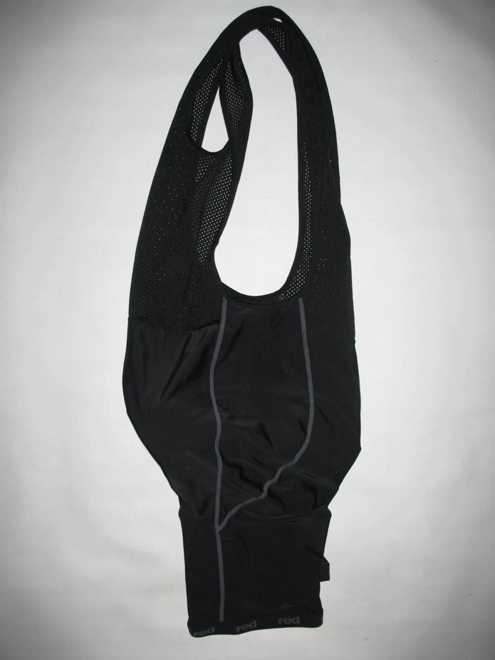 Велотрусы RED bib shorts (размер XXL) - 3