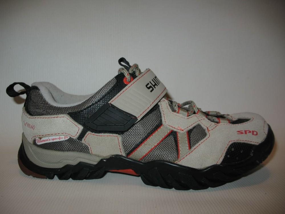 Велотуфли SHIMANO sh-wm 40 mtb shoes lady (размер US6.5/EU38(на стопу 238 mm)) - 3