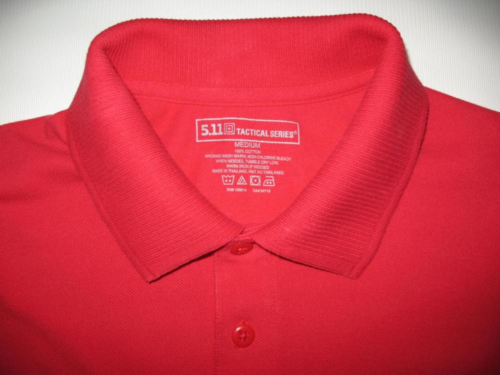 Свитер 5.11 tactical professional long sleeve polo jersey (размер М) - 6