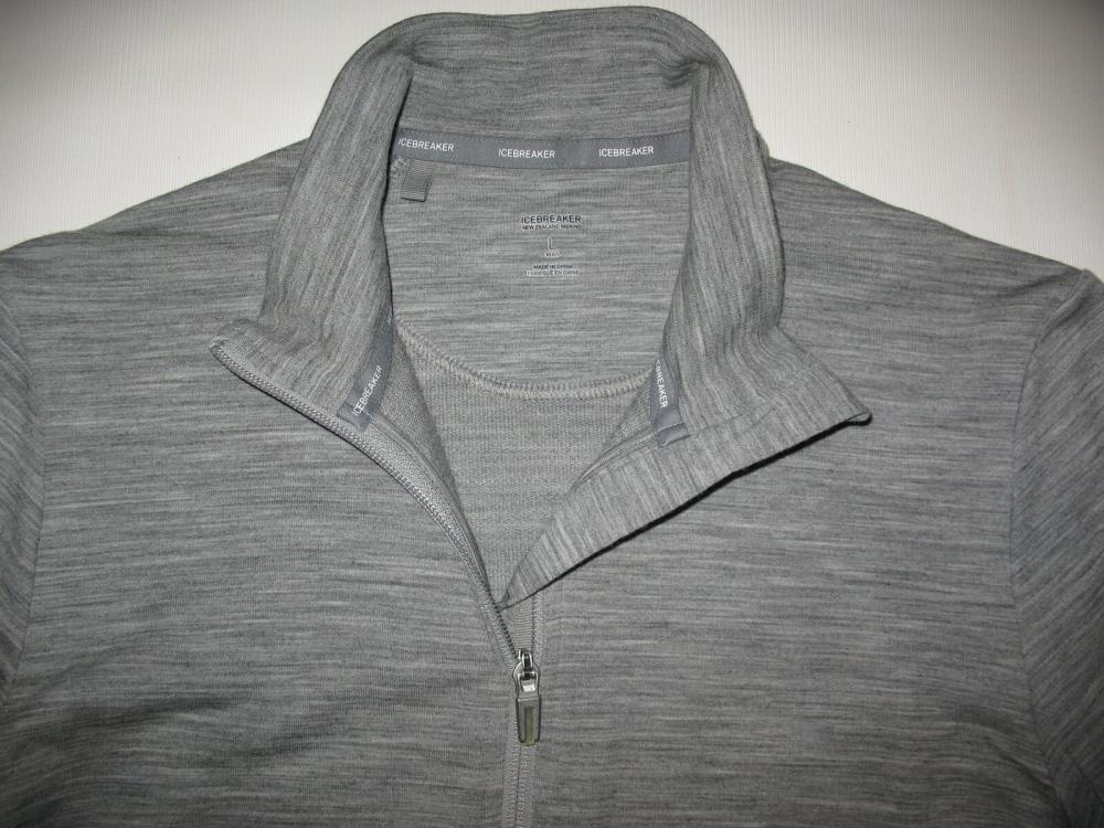Кофта ICEBREAKER Midweight long sleeve Jacket(размер L) - 4