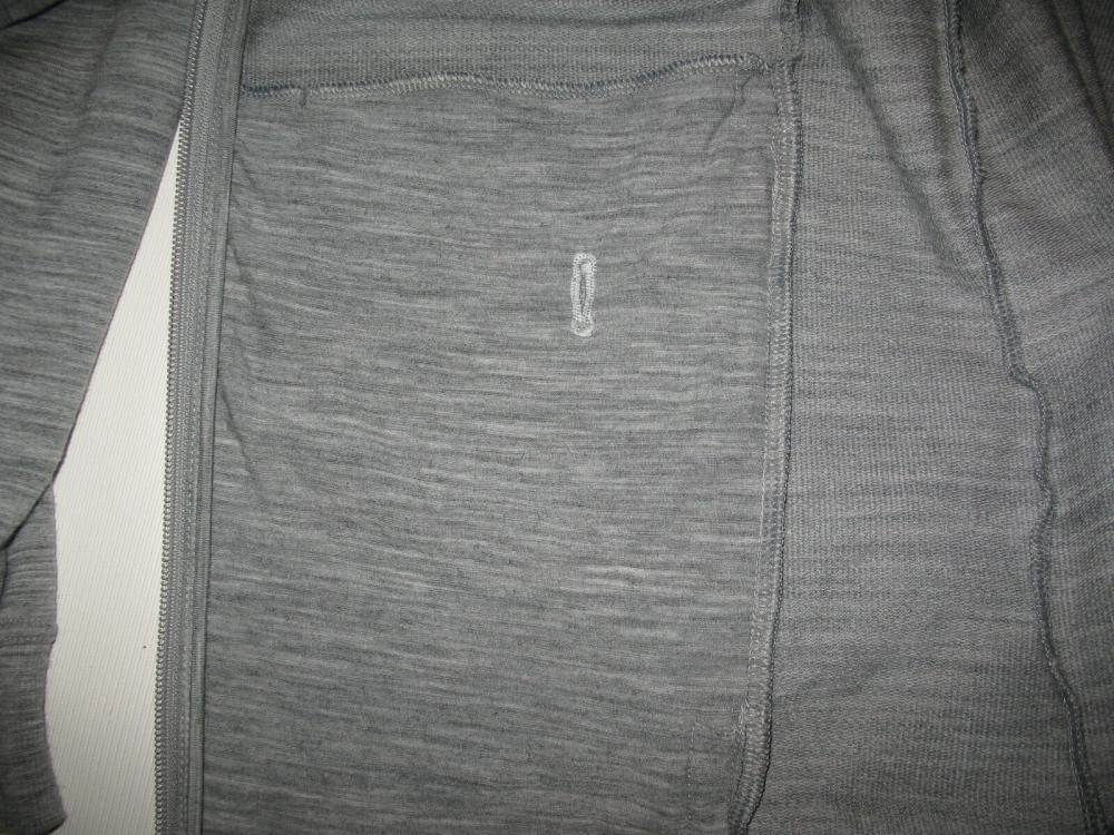 Кофта ICEBREAKER Midweight long sleeve Jacket(размер L) - 9