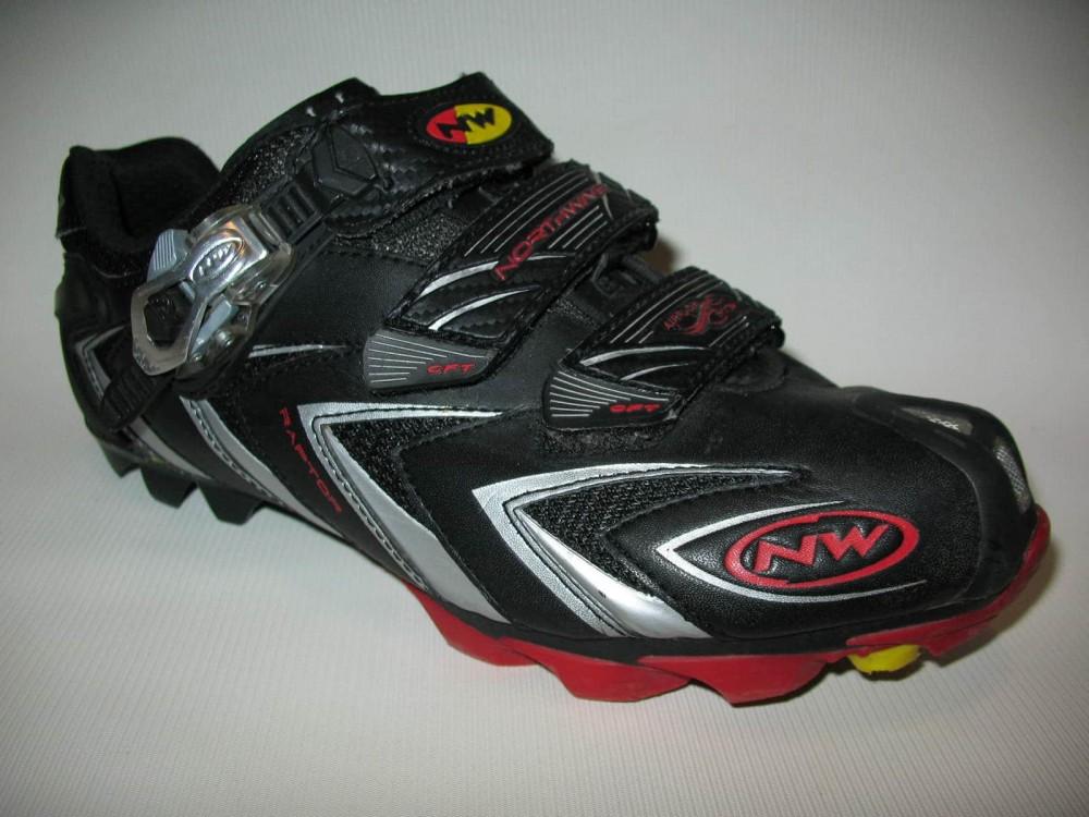 Велотуфли NORTHWAVE raptor cycling shoes (размер US8,5/UK7,5/EU41(на стопу до 265 mm)) - 2